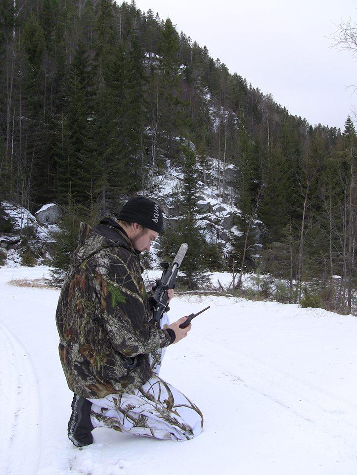 Storm konstaterer at han ble brukt som rundingsbøye av hjortebukken.